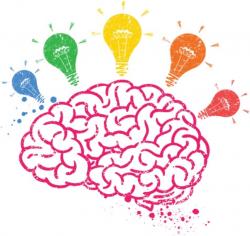 brain clipart kids