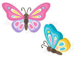 spring clipart butterfly