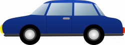Car clipart blue