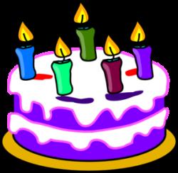 birthday clipart free cake
