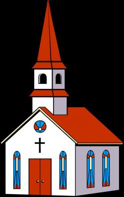church clip art animated