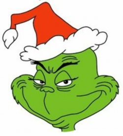 grinch clipart ornament