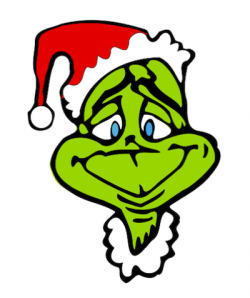 grinch clipart cartoon