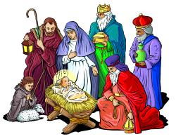 religious christmas clipart public domain