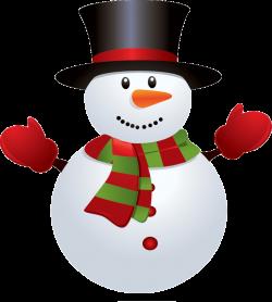 december clipart snowman
