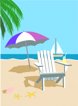 vacation clipart tropical