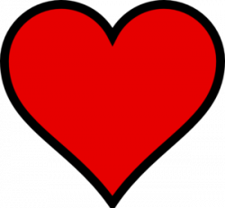 heart transparent small