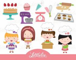 baking clipart cute
