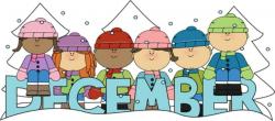 december clip art winter