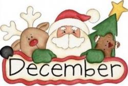 december clip art santa