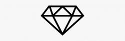 diamond clipart outline