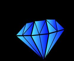 diamond clipart cartoon