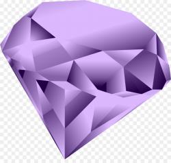 diamond clipart purple