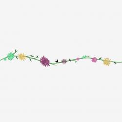divider clipart floral
