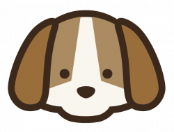 clipart dog simple
