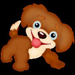 clipart dog cartoon