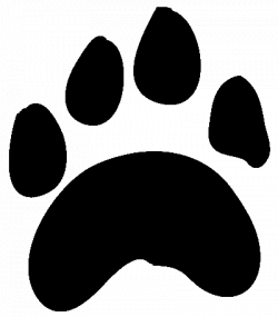 paw prints clipart cute