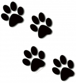 paw prints clip art bulldog