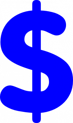 money transparent blue