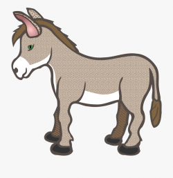 donkey clipart strong