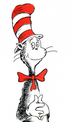 cat in the hat clipart cartoon