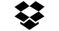dropbox logo grey