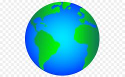 earth transparent cartoon