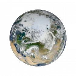 earth transparent aesthetic
