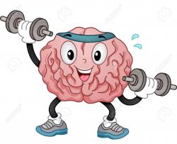 exercise clipart brain
