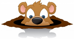 groundhog clipart spring