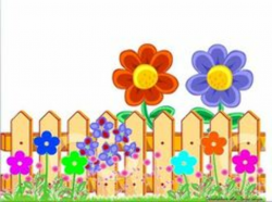garden clipart colorful