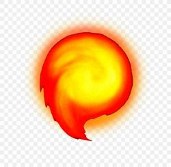 fireball clipart mario