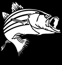 fishing clipart bass