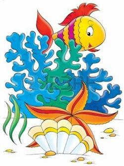 under the sea clipart fish