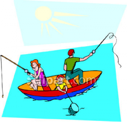 fishing clipart family