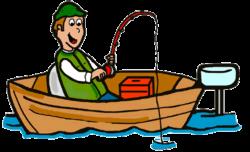 fishing clipart boat