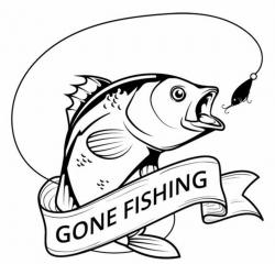 fishing clipart logo