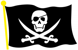 pirate clipart skull