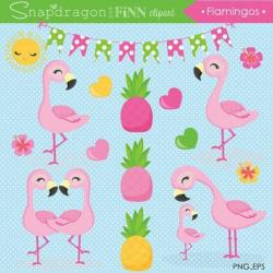 flamingo clip art baby
