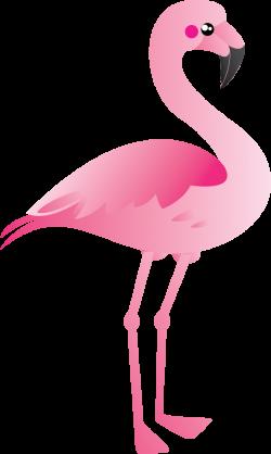 flamingo clipart glitter