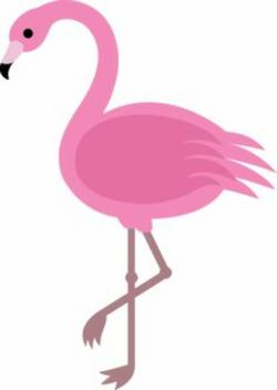 flamingo clip art whimsical