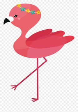 flamingo clip art kawaii