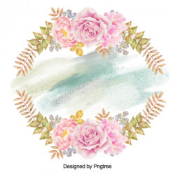 Flower clipart floral wreath