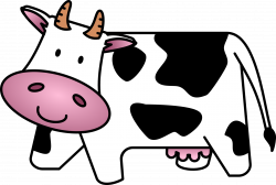 cow clipart simple