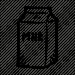 milk clipart carton
