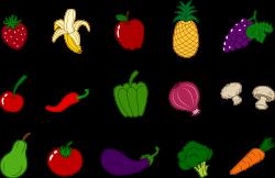 vegetables clipart printable