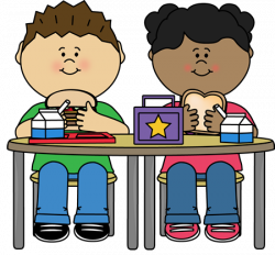 eating clipart student