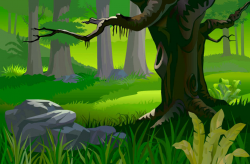 forest clipart background