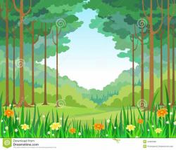 forest clipart illustration
