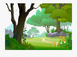 forest clipart vector